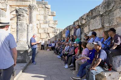Peter's Primacy, Capernaum, Mt of Beatitudes, Magdala  3-5-20