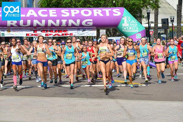 Tour De Pain 1 Mile Open Women 2017