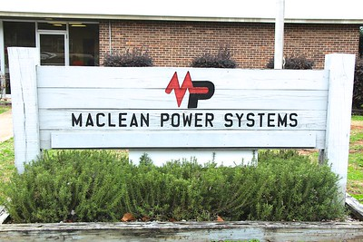 MacLean Power Systems Flag Replacement 2/14/2018