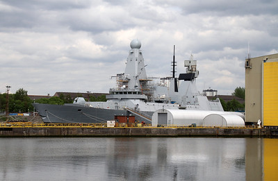 Warships on the Clyde