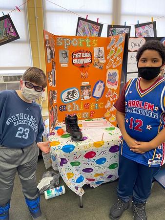 Third Grade Black History Fair