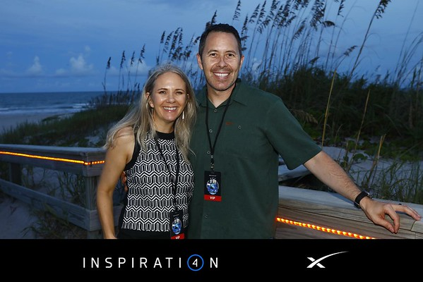 SpaceX Inspiration4 Welcome Party