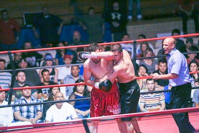 Bout 5-Knock Down in G-Town 3--Boxing-5-Saucedo Sr vs Martinez