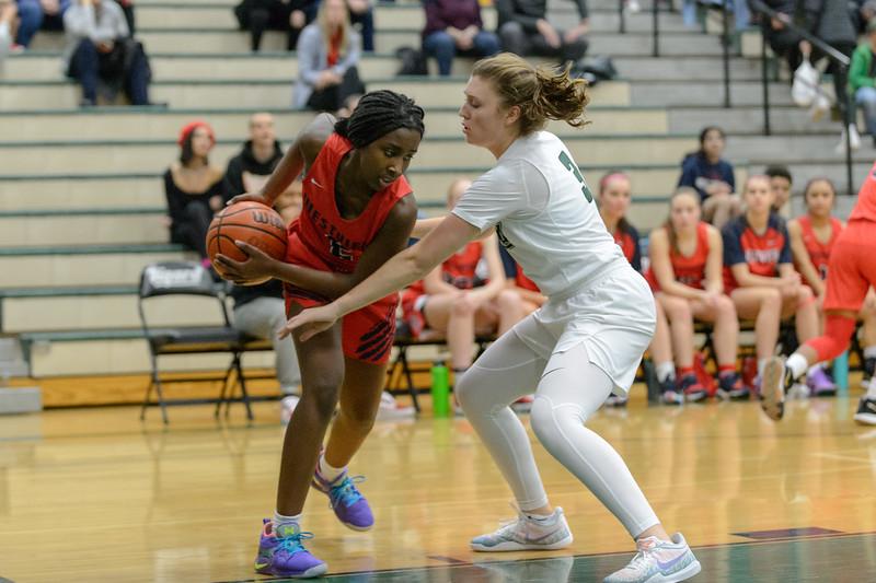 Tigard HS Girls Varsity BB vs Westview