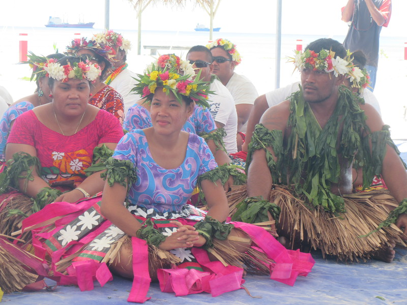 025_Funafuti. Community Hall (Falekaupule). Traditional dance.JPG