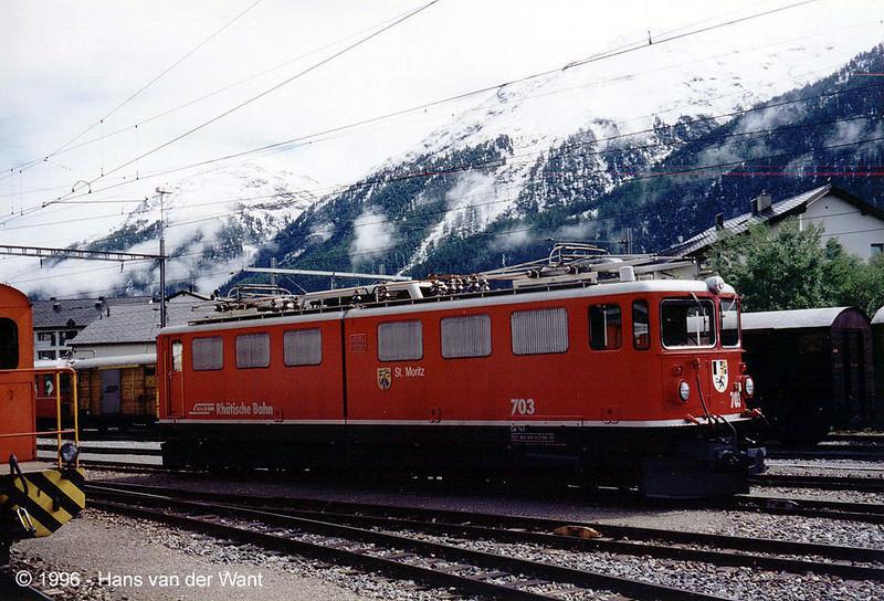 RhB-703 - Samedan - 28-08-1996