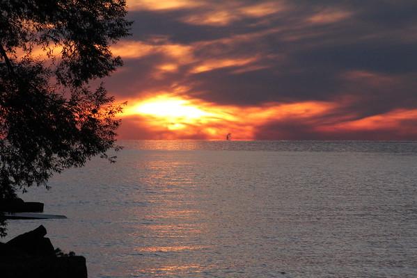 Evening walk in Niagara-on-the-Lake - 20 September 2015