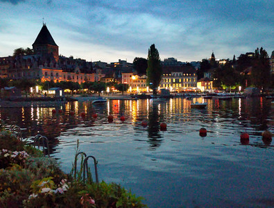 City of Lausanne Switzerland