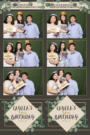 Cayela's 18th Birthday-6-9-19