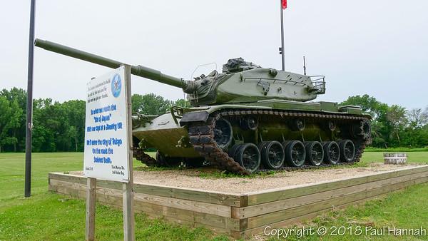 Veterans Freedom Park – La Crosse, WI – M60A3