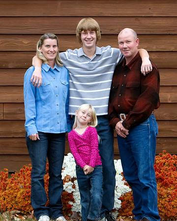 Diana, Bill and the kids - October 2010