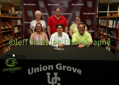 UGHS Soccer signings 2016