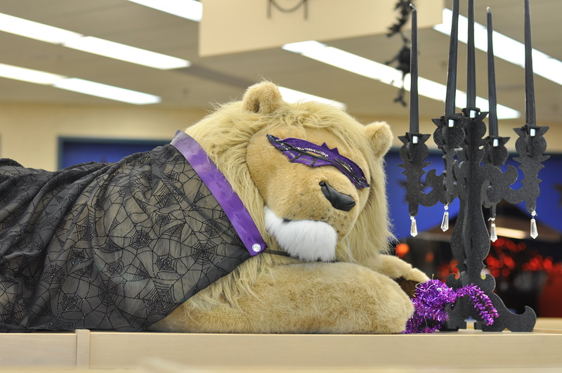 our famous lion in costume.jpg