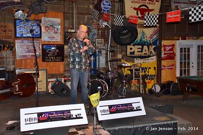 2014 CMA Folk Showcase @ Pucketts, Charlotte, NC  2-27-14
