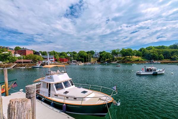 Rockport Harbor, Maine - 2020