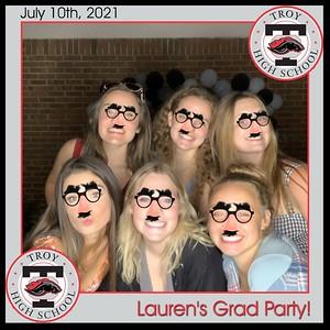 Lauren's Grad Party - July 10, 2021