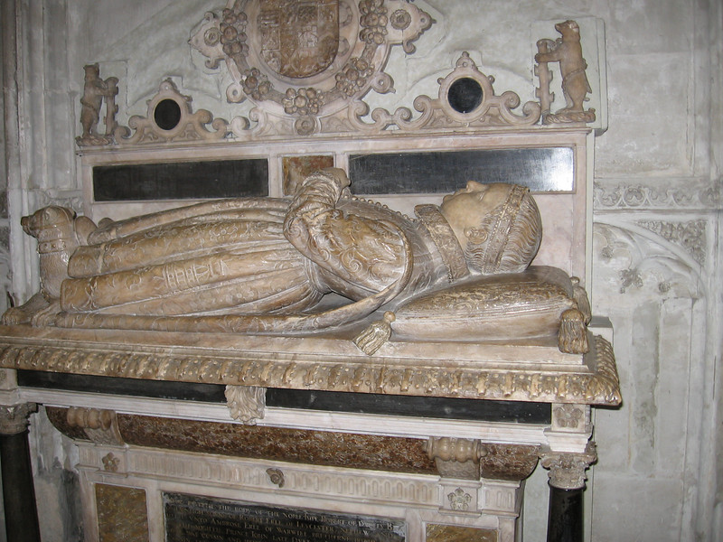 Tomb of Robert Dudley ?-1564, son of the Earl of Leicester and Lettice Knollys