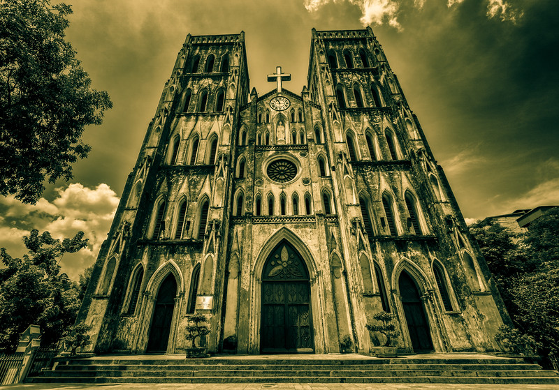 St Joseph Cathedral.