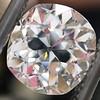 3.03ct Antique Cushion Cut Diamond, GIA K VVS2 3