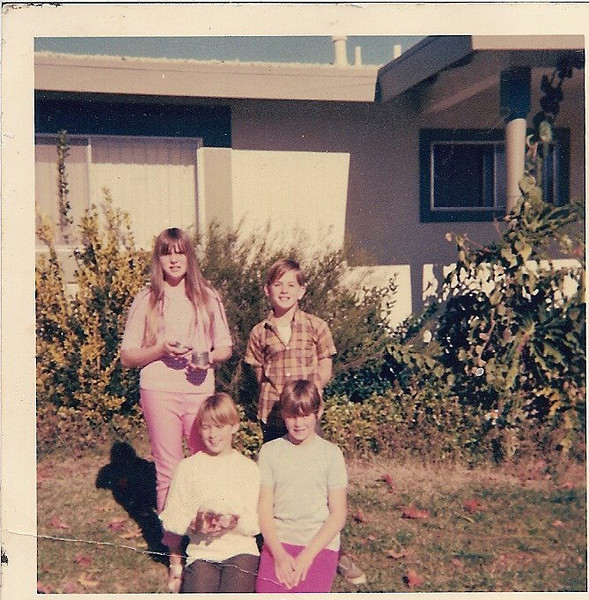 Guy Gibbons kids (& some unknown kid) - Joy (San Diego), Guy Jr (died), Glenda Gibbons (Poway) - grew up in Poway, California