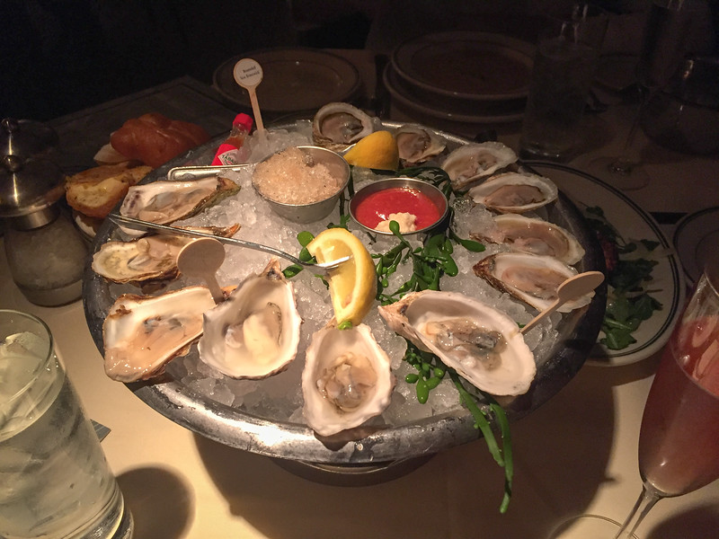 Raspberry Point, Beausoleil and Chelsea Gem oysters