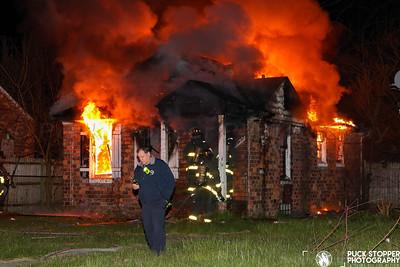 Vacant Dwelling Fire - 19937 Lumpkin, Detroit, MI - 5/13/20