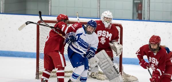 BSM JV at Jefferson Girls Hockey