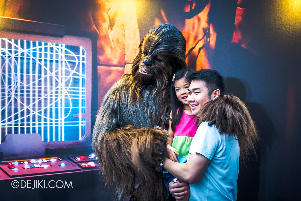 Gardens by the Bay - Star Wars Day 2017 - Chewbacca Meet and Greet
