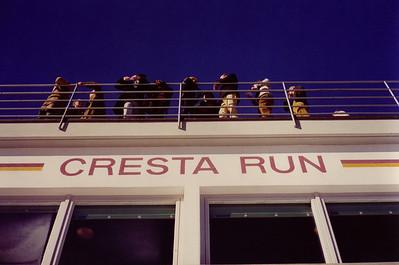 The Cresta Run, St. Moritz