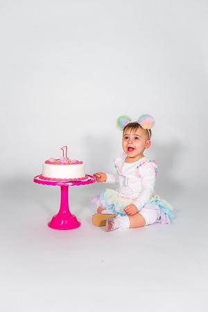 Mila Rose Cake Smash