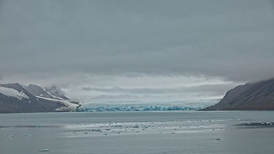 Arctic Circle, Glaciers at Liefdefd Fjord, Svalbard Archipelago 2018