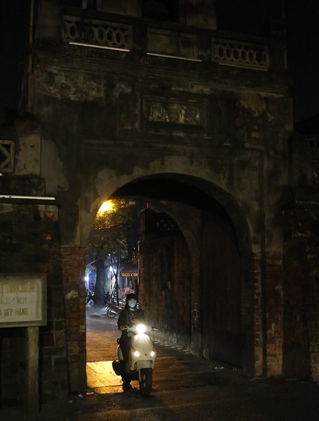 Old Gate to the walled city of Hanoi