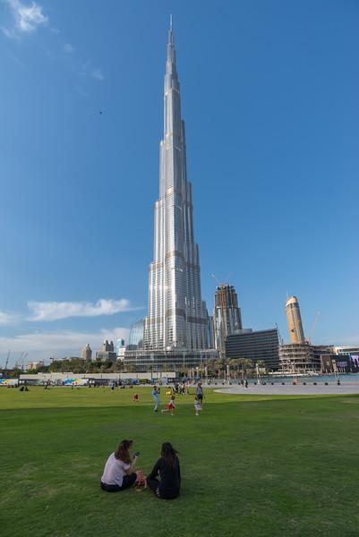 Picnic in Dubai, March 2015