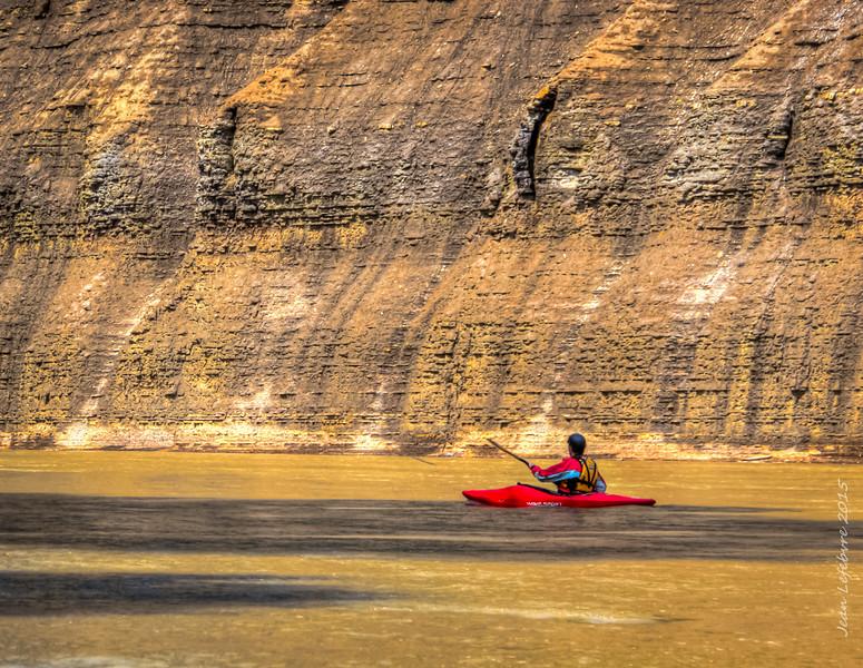 Dirty Canyon Kayaker!