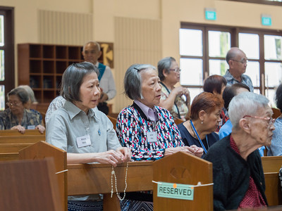 Mass for the Elderly and Sick 2018