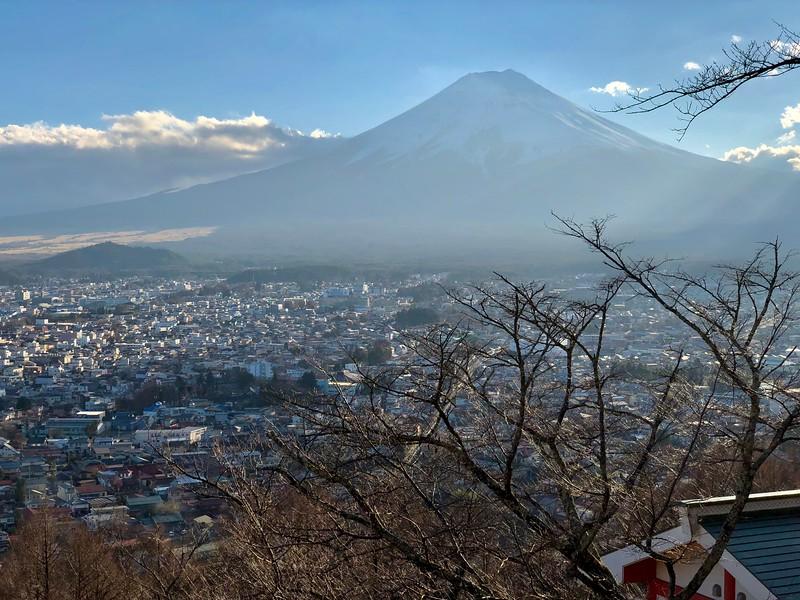 Shimoyoshida Mt. Fuji
