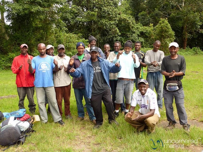 Our Kili Porters and Support - Mt. Kilimanjaro, Tanzania