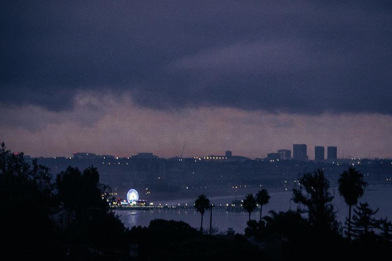 October 4 - Rain clouds blocking sunrise over Santa Monica; sun came, rain didn't.jpg