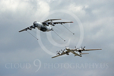 Russian Air Force Tupolev Tu-95 Bear Aerial Refueling Pictures
