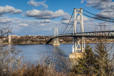 Mid-Hudson Bridge, Highland, NY, USA
