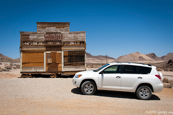 Rhyolite Ghost Town May 2013