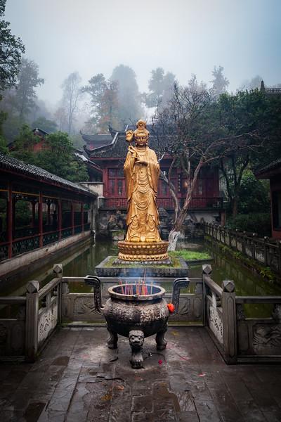 The Buddha - Hongfu Temple, Guiyang, China