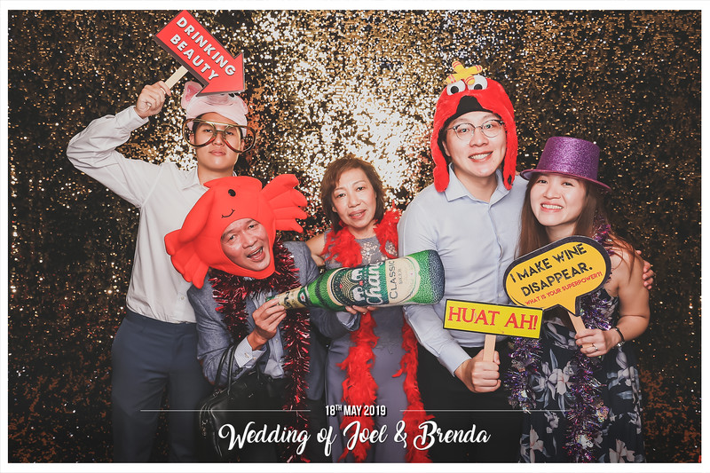 Wedding of Joel & Brenda | © www.SRSLYPhotobooth.sg