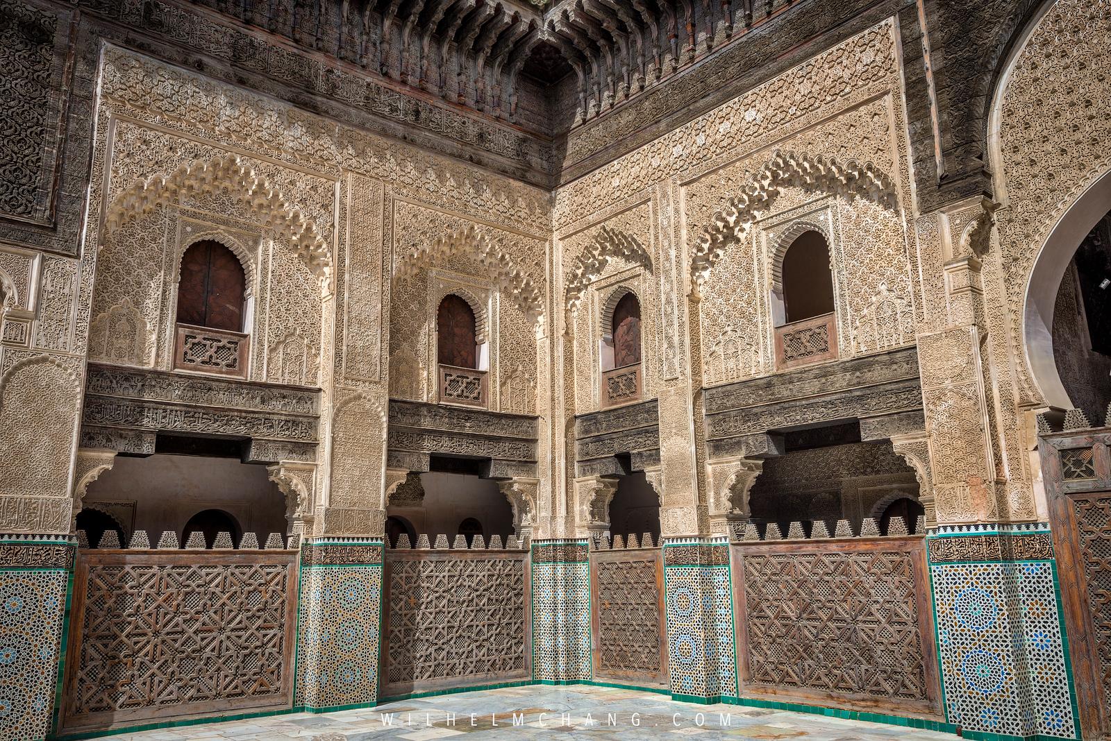 北非調色盤 摩洛哥 迷宮般的千年古城 菲斯 Fes 五大必拍主題 by Wilhelm Chang 張威廉