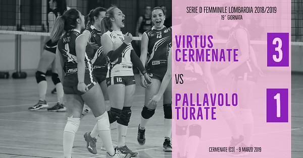 LOM-Df: 19^ Virtus Cermenate - Pallavolo Turate