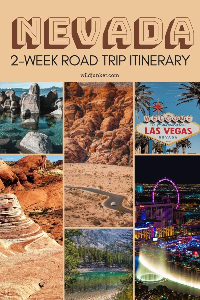 nevada road trip - 2 week road trip from las vegas