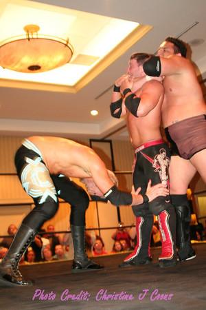 Saturday Matches - 07 Christian vs AJ Styles vs Samoa Joe