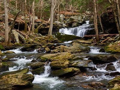 Waterfalls of Roaring Creek