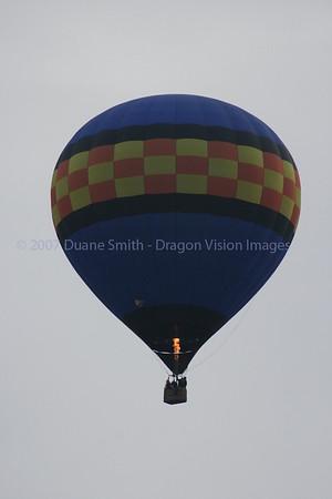 Hot Air Balloon over Salem 20071219
