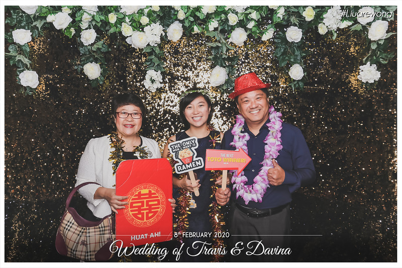 Wedding of Travis & Davina | © www.SRSLYPhotobooth.sg